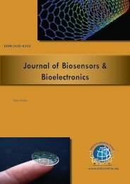 Journal of Biosensors & Bioelectronics -  OMICS Group