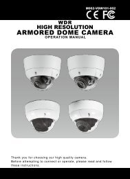 ARMORED DOME CAMERA - DWG
