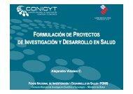 Formulación de proyectos de investigación y desarrollo en salud