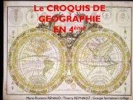 Le croquis de géographie au collège - Histoire géographie Dijon