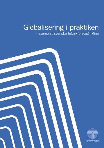Globalisering i praktiken - Teknikföretagen
