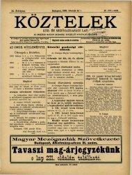 Melichar Ferencz - Országos Mezőgazdasági Könyvtár