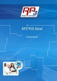 Facturación - RP3 Retail Software