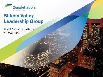 Market Intelligence Series Webinar - Silicon Valley Leadership Group