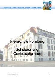 Schulhausordnung - Reinach