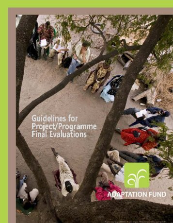 Guidelines for Project and Programme Final ... - Adaptation Fund