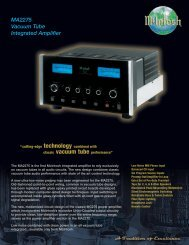 MA2275 Vacuum Tube Integrated Amplifier