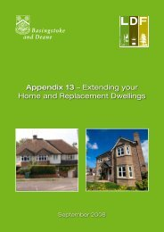 Appendix 13 – Extending your Home and Replacement Dwellings