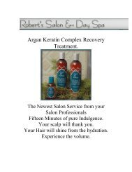 Miracle Tonic - Robert's Salon and Day Spa