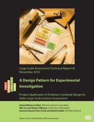 A Design Pattern for Experimental Investigation Alexis Mitman Colker