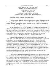 In the Matter of the Compensation of JOHN E. SCHLOSSER ...