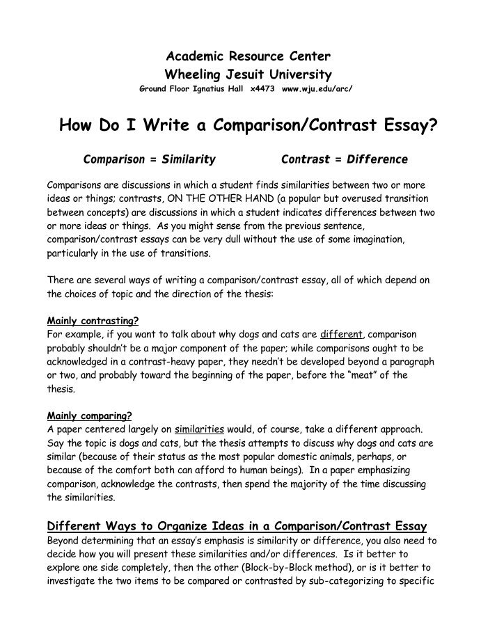 advertisement comparison essay Compare and contrast essays are taught in school for many reasons for one thing, they are relatively easy to teach, understand, and format students can typically understand the structure with just a short amount of instruction in addition, these essays allow students develop critical thinking.