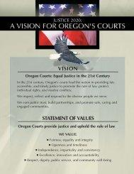 Justice 2020: A Vision for Oregon's Courts - Oregon Judicial ...