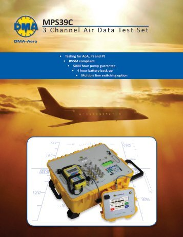 MPS39C Datasheet - SRP Control Systems