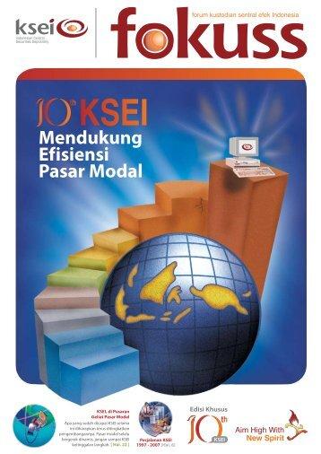 Mendukung Efisiensi Pasar Modal - KSEI