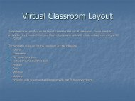 Virtual Professor's Classroom