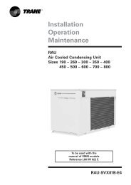 Installation Operation Maintenance RAU Air Cooled Condensing ...