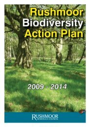 Rushmoor Biodiversity Action Plan - Hampshire County Council