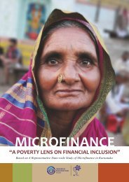 a poverty lens on financial inclusion - Grameen Foundation India
