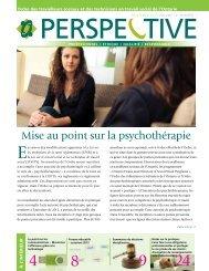 Mise au point sur la psychothérapie - Ontario College of Social ...