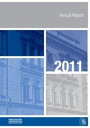 Annual Report - Finanssivalvonta