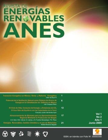 Vol 1 No 2 Año 1 Junio 2009 - Asociación Nacional de Energía Solar