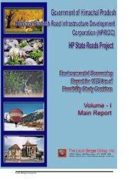 Main Report - Government of Himachal Pradesh