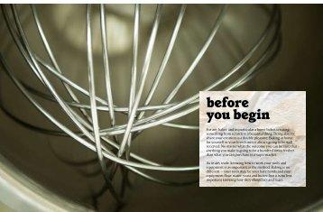 before you begin - Booktopia