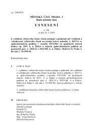 usnesení RMČ č. 146 ze dne 24.3.2010 - výběrové řízení ... - Praha 3