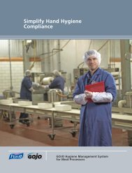 Food Process Brochure.pdf - GOJO Industries, Inc.