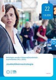 Joukkoliikennestrategia 22/2010 - HSL