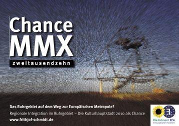 Das Ruhrgebiet auf dem Weg zur Europäischen Metropole?
