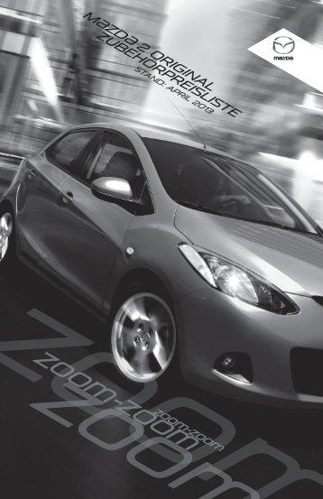 Zubehörprospekt Mazda2 Typ DE - Autohaus Vollmari GmbH