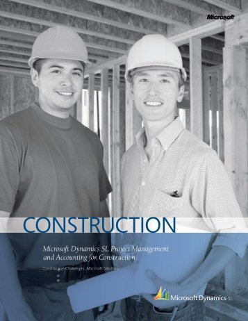 CONSTRUCTION - Synergy Business Solutions