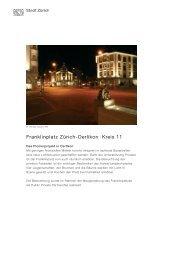 Franklinplatz Zürich-Oerlikon · Kreis 11 - Stadt Zürich