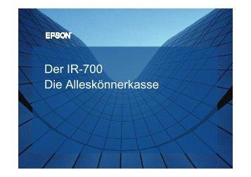 Der IR-700 Die Alleskönnerkasse - Novopos