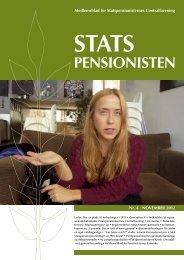PENSIONISTEN - Statspensionisternes Centralforening