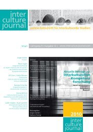 Interculture Journal - Frankfurt School of Finance & Management