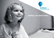 Our Story - Asthma Foundation of Western Australia