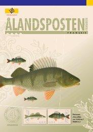 Le programme d'émission 2008 - Posten Åland