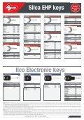 Silca EHP keys - Kaba do Brasil LTDA - Page 3
