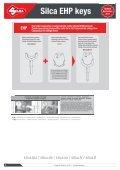 Silca EHP keys - Kaba do Brasil LTDA - Page 4