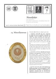 Newsletter 15 Miscellaneous
