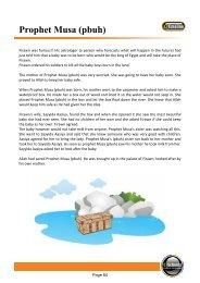 Prophet Musa (pbuh) - Hujjat Workshop