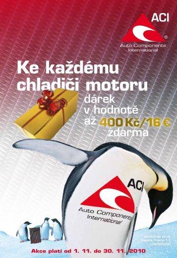 Ke každému chladiči motoru 400 Kč/16 - WEBAREAL.cz