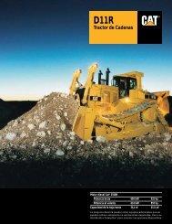 D11R Tractor de Cadenas - ASHQ5242-02