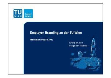 Employer Branding an der TU Wien - TU Career Center