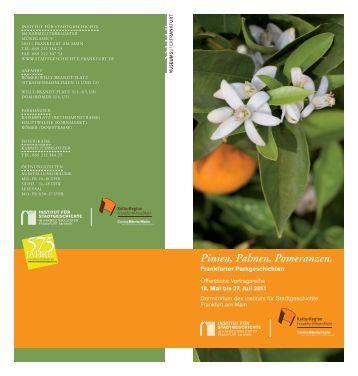 Flyer downloaden - KulturRegion Frankfurt RheinMain