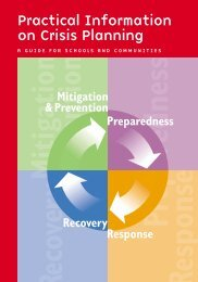 Crisis Planning Template for Schools and Communities - Southwest ...
