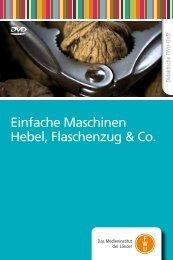 Einfache Maschinen Hebel, Flaschenzug & Co.